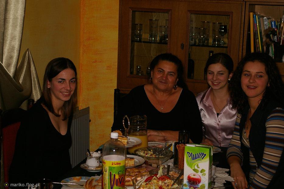 Ja  i córki...:)