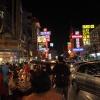 Bangkok IV :: kolacja na środku skrzyżo<br />wania w China Town? Czemu<br /> nie :) kolorowo, energet<br />ycznie (nie tylko pod w